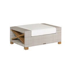 Jupiter Deep Seating Ottoman | Gartenhocker | Kingsley Bate