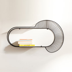 Loop | Corolla | Baldas / estantes de pared | Petite Friture