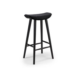 Kya | Barstool with wooden frame | Bar stools | FREIFRAU MANUFAKTUR