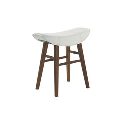 Kya | Stool Seat with wooden frame | Stools | FREIFRAU MANUFAKTUR