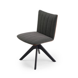 Rubie | Chair with wooden support frame | Sillas | Freifrau Sitzmöbelmanufaktur