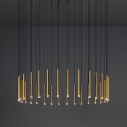 Candle Chandelier | Suspended lights | GROK