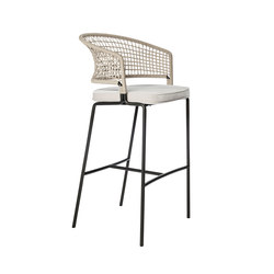 CTR Bar Chair | Garten-Barhocker | Tribù