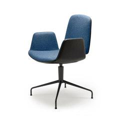Tilda | Armchair with trestle leg | Conference chairs | Freifrau Sitzmöbelmanufaktur
