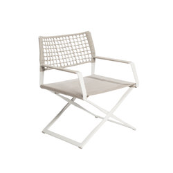 Regista Easy Chair | Garden armchairs | Tribù