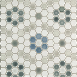 "1"" Hex | Keramik Mosaike | Pratt & Larson Ceramics"