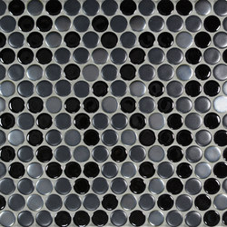 "7/8"" Circle Netted | Mosaïques céramique | Pratt & Larson Ceramics"