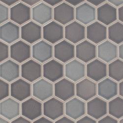 "2"" Hexagon Netted | Mosaïques céramique | Pratt & Larson Ceramics"