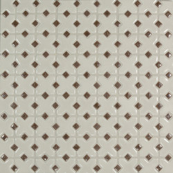 Mini Cross Pattern | Mosaici ceramica | Pratt & Larson Ceramics