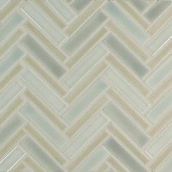 Multi-size Herringbone | Mosaïques céramique | Pratt & Larson Ceramics