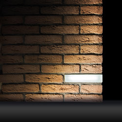 Brick Light Wall Recessed | Outdoor recessed wall lights | Simes