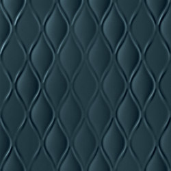 4D | Drop Deep Blu Matt | Ceramic tiles | Marca Corona
