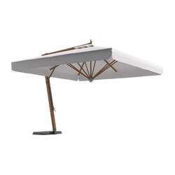 River Lux Umbrella with lateral structure | Parasols | Atmosphera