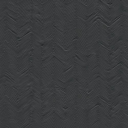 Paris | Noir | Zig-Zag | Ceramic tiles | Novabell