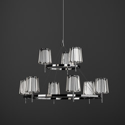 Julia Chandelier | Suspended lights | Quasar