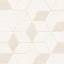 Newluxe Wall | Tessere Rombi White | Keramik Fliesen | Marca Corona