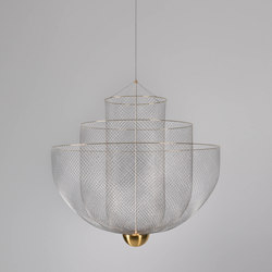 Meshmatics Chandelier | Suspended lights | moooi