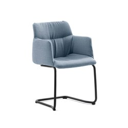 Haddoc Oyster | Visitors chairs / Side chairs | Johanson