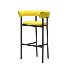FONT Light Bar Stool | Armrest | Bar stools | møbel copenhagen