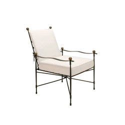AMALFI ADJUSTABLE CHAIN BACK LOUNGE CHAIR | Sillas | JANUS et Cie