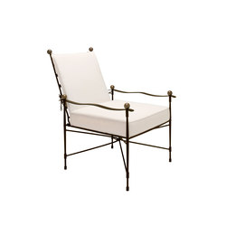 AMALFI ADJUSTABLE CHAIN BACK LOUNGE CHAIR | Chairs | JANUS et Cie
