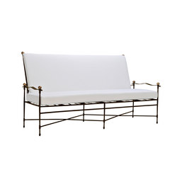 AMALFI ADJUSTABLE CHAIN BACK SOFA | Sofás de jardín | JANUS et Cie