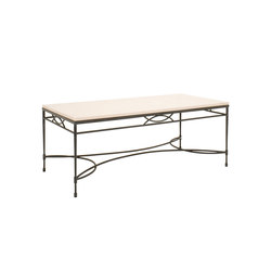 AMALFI STONE TOP COCKTAIL TABLE RECTANGLE 122 | Coffee tables | JANUS et Cie
