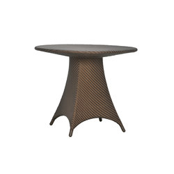 AMARI FULLY WOVEN DINING TABLE ROUND 90   Dining tables   JANUS et Cie