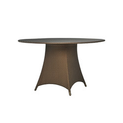 AMARI FULLY WOVEN DINING TABLE ROUND 130 | Mesas comedor | JANUS et Cie
