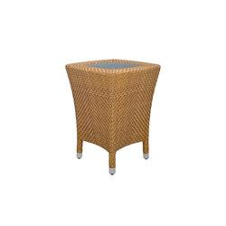 AMARI GLASS TOP SIDE TABLE 45 | Tavolini alti | JANUS et Cie