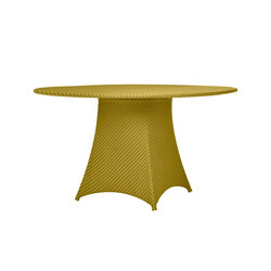 AMARI RATTAN FULLY WOVEN DINING TABLE ROUND 130 | Dining tables | JANUS et Cie