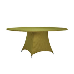 AMARI RATTAN FULLY WOVEN DINING TABLE ROUND 180 | Dining tables | JANUS et Cie