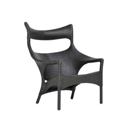 AMARI RATTAN HIGH BACK LOUNGE CHAIR | Sillones | JANUS et Cie