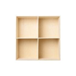 Bookcase Solid Ash Full-Size M30 | Sistemi scaffale ufficio | ATBO Furniture A/S