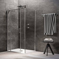 Claire Design Pivot door | Shower screens | Inda