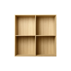 Bookcase Solid Oak Full-Size M30 | Sistemas de estantería | ATBO Furniture A/S
