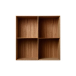 Bookcase Solid Mahogany Full-Size M30 | Office shelving systems | ATBO Furniture A/S