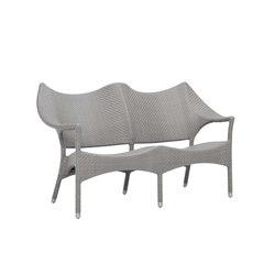 AMARI RATTAN SOFA 2 SEAT | Sofas | JANUS et Cie