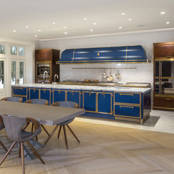 TAILOR MADE KITCHENS | SAPPHIRE BLUE KITCHEN | Fitted kitchens | Officine Gullo