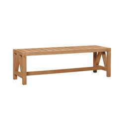 ARBOR BACKLESS BENCH 136   Benches   JANUS et Cie