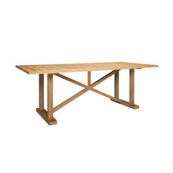 ARBOR DINING TABLE RECTANGLE 221 | Restaurant tables | JANUS et Cie