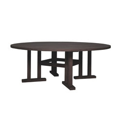 ARBOR DINING TABLE ROUND 203 | Restaurant tables | JANUS et Cie