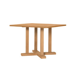 ARBOR DINING TABLE SQUARE 102 | Restaurant tables | JANUS et Cie