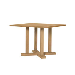 ARBOR DINING TABLE SQUARE 112 | Mesas para restaurantes | JANUS et Cie