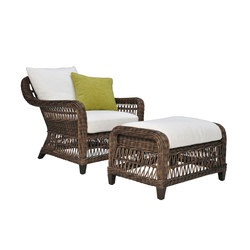 ARBOR LOUNGE CHAIR + OTTOMAN | Sessel | JANUS et Cie