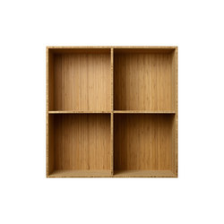 Bookcase Bamboo Full-Size M30 | Shelving | ATBO Furniture A/S