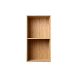 Bookcase Bamboo Half-Size Vertical M30 | Shelving | ATBO Furniture A/S