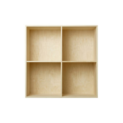 Bookcase Plywood Birch Full-size M30 | Office shelving systems | ATBO Furniture A/S