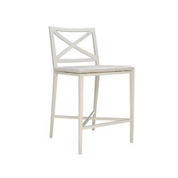 AZIMUTH CROSS COUNTER STOOL | Bar stools | JANUS et Cie