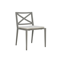 AZIMUTH CROSS SIDE CHAIR | Chaises | JANUS et Cie